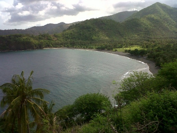 Malimbu Beach View from the Hill