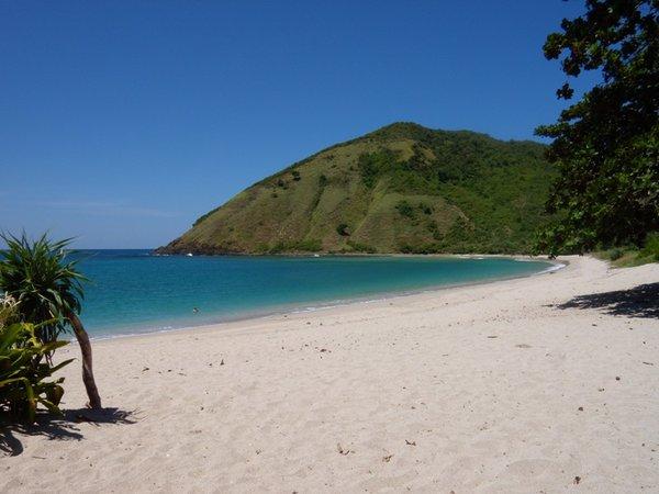 Mawun Beach Lombok Stunning Scenery