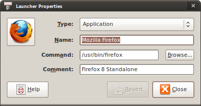 Membuat Launcher Firefox di Ubuntu